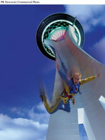 Stratosphere plans SkyJump thriller, 855-foot free fall Las Vegas