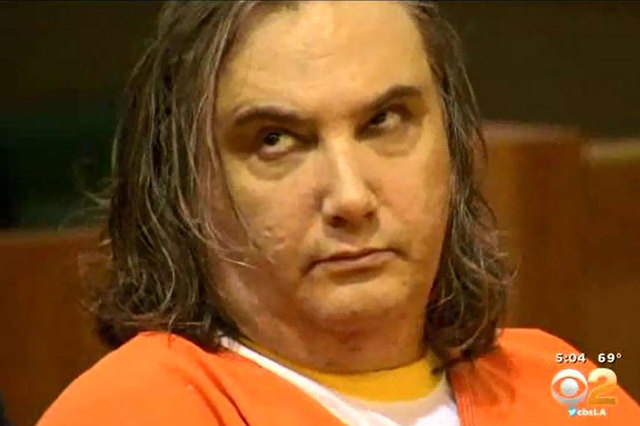 Convicted murderer rolls eyes during wife\u0027s family statements Las