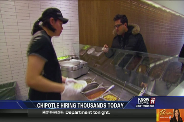 Need a job? Chipotle\u0027s hiring \u2014 everywhere Las Vegas Review-Journal