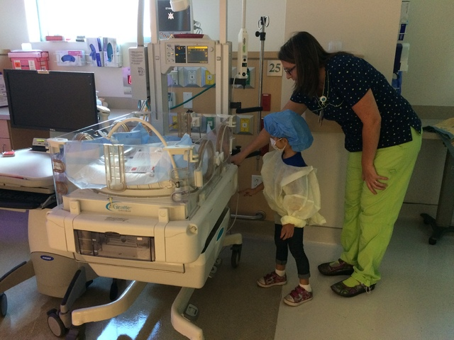 Summerlin girl born prematurely an ambassador for March of Dimes