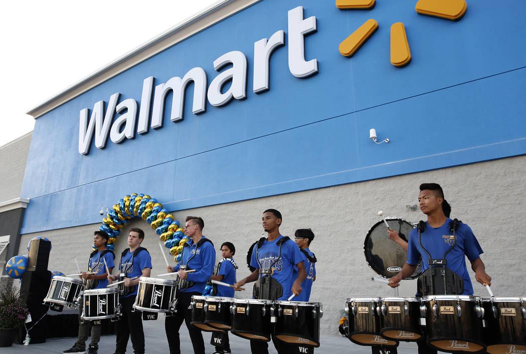 New Walmart supercenter opens in Las Vegas Valley Las Vegas Review