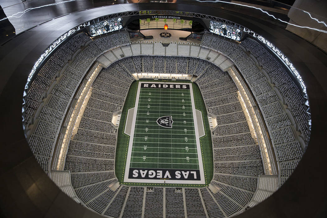 Las Vegas Raiders stadium club PSLs to cost fans up to $75K each