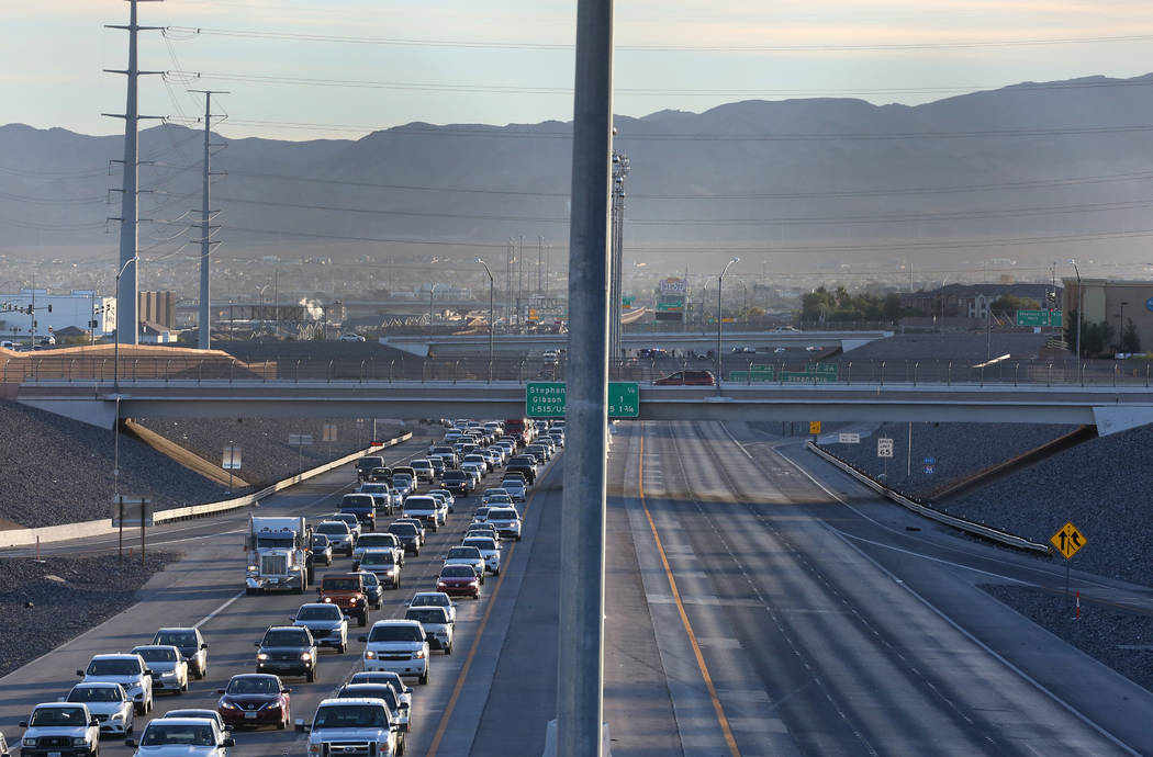 Girl killed after jumping from bridge onto 215 Beltway in Henderson