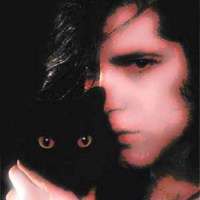 Glenn Danzig with a Cat