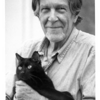 John Cage With A Cat