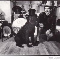 Rick Danko With A Dog
