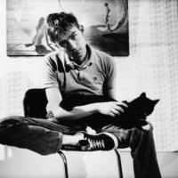 Damon Albarn With A Cat