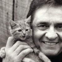 Music Legends With Cats: Johnny Cash