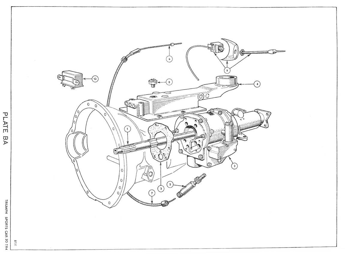 triumph tr6 cr wiring diagram