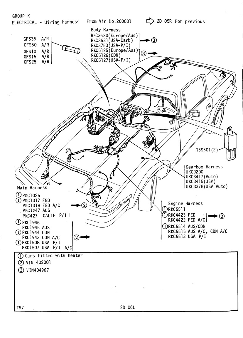 Triumph Tr8 Wiring Harness Auto Electrical Diagram For 1971 Motorcycle