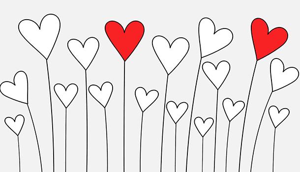 O mais bonito das histórias de amor é que elas nunca são iguais