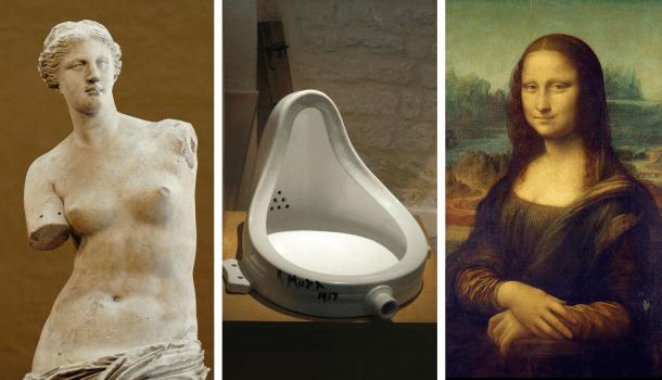 As 10 obras de arte mais importantes de todos os tempos
