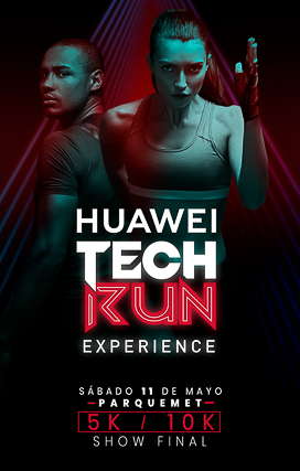 KV Huawei Tech Run