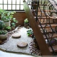 Jardim na escada, lindas fotos de modelos, confiram!