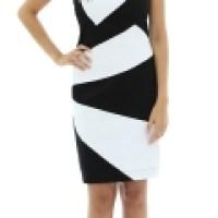 Modelos do vestido preto e branco, são vários e lindos