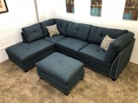 Blue Microfiber Sectional Sofa Blue Microfiber Sofas Good ...