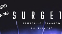 SURGE17 is nearly here! 1-2 July at The Armadillo