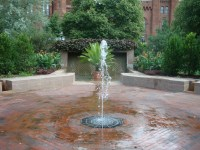 Fountains + Heat & Humidity + Water = Magic ...
