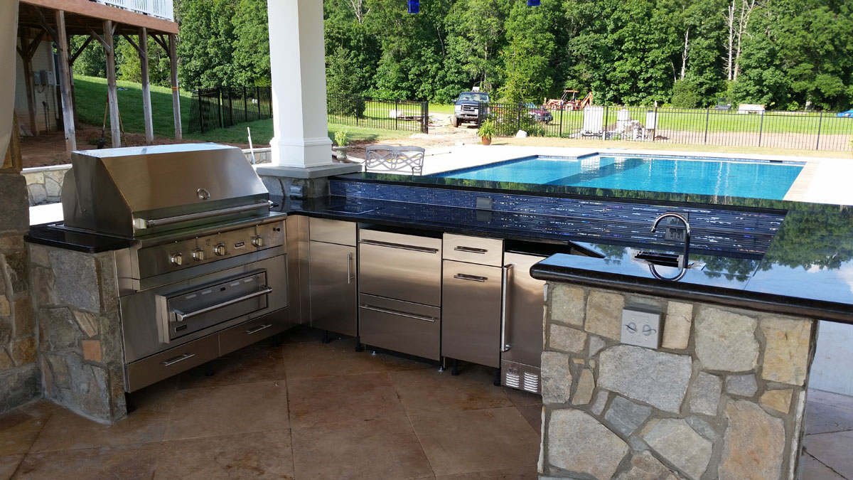 fireplaces kitchens outdoor kitchen designs Nokesville outdoor kitchen design