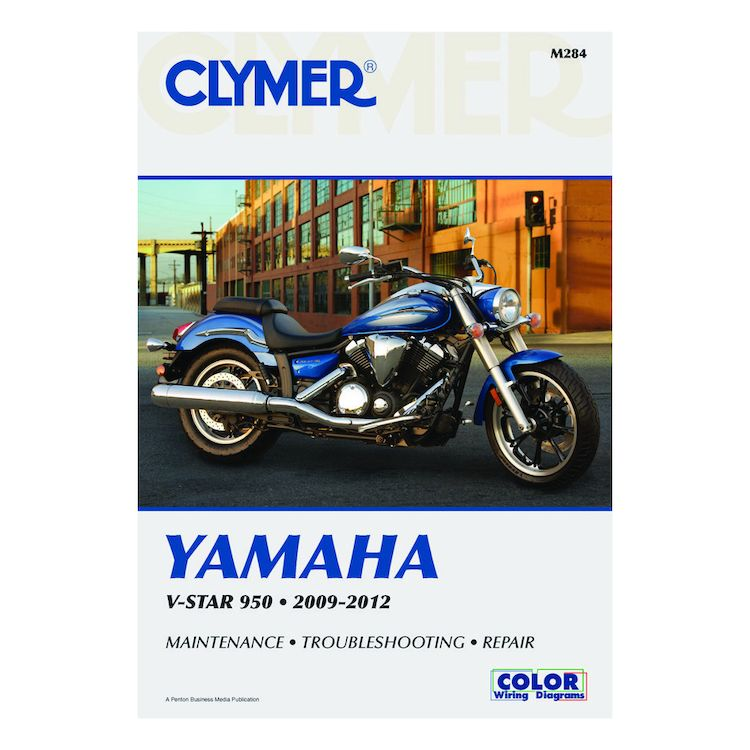 Clymer Manual Yamaha V Star 950 2009-2012 10 ($370) Off! - RevZilla