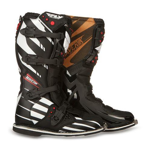 Fly Racing Maverik Mx F4 Boots Revzilla