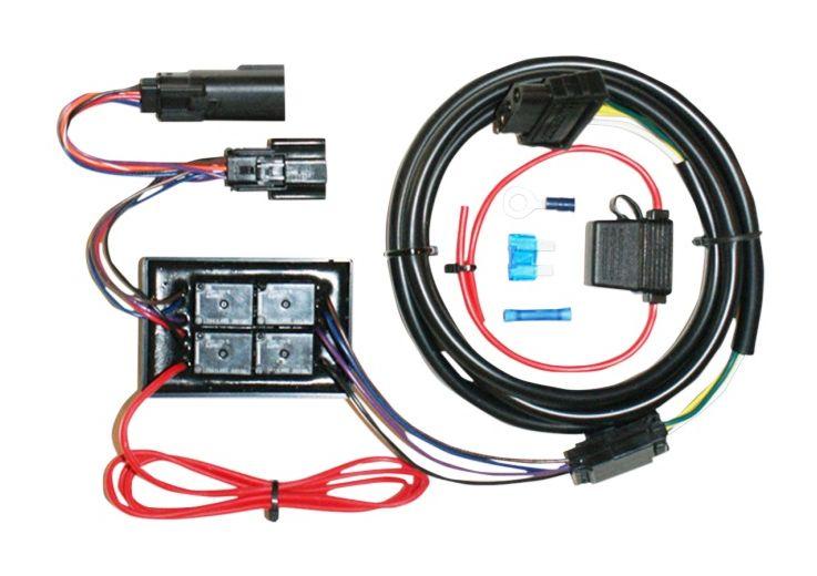 Khrome Werks Plug  Play Trailer Wiring Harness Kit For Harley
