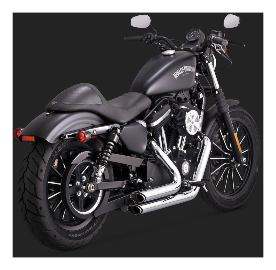 Vance  Hines Shortshots Staggered Exhaust For Harley Sportster 2014