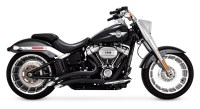 Vance & Hines Big Radius Exhaust For Harley Softail ...
