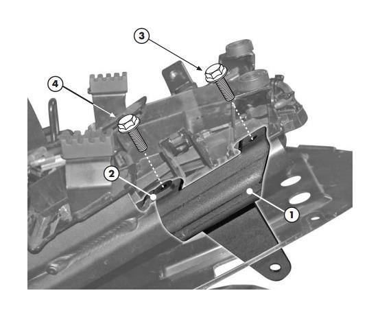 Givi PLX359 / PLXR359 V35 Side Case Racks Yamaha FZ1 2006-2015 10