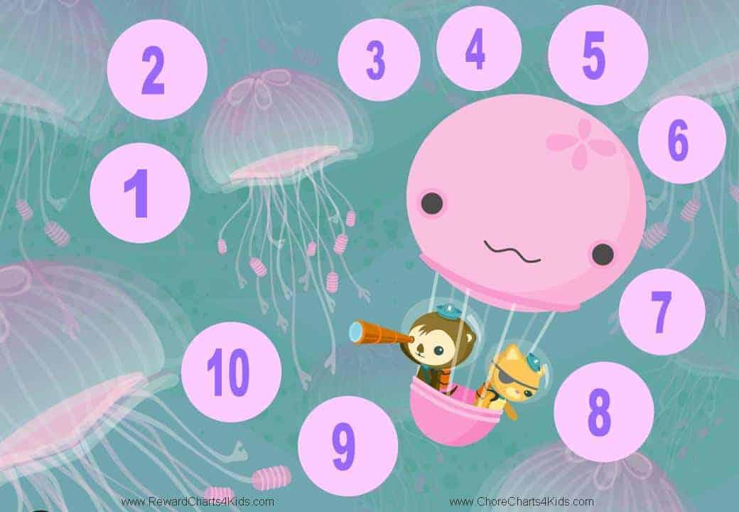 Free Printable Reward Charts for Kids