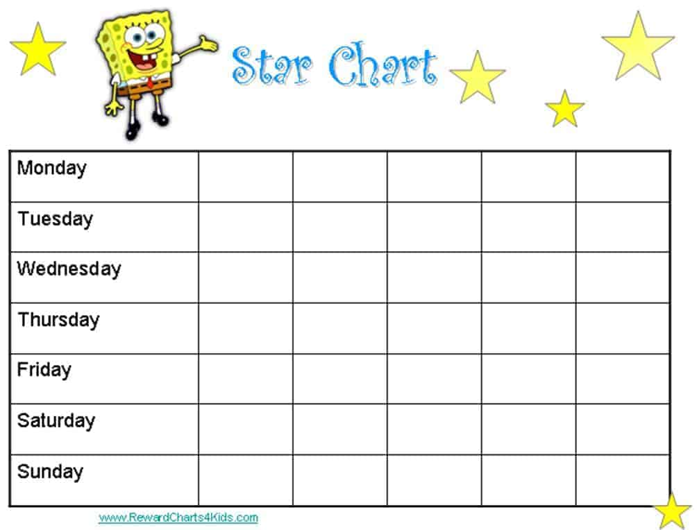 free downloadable reward charts