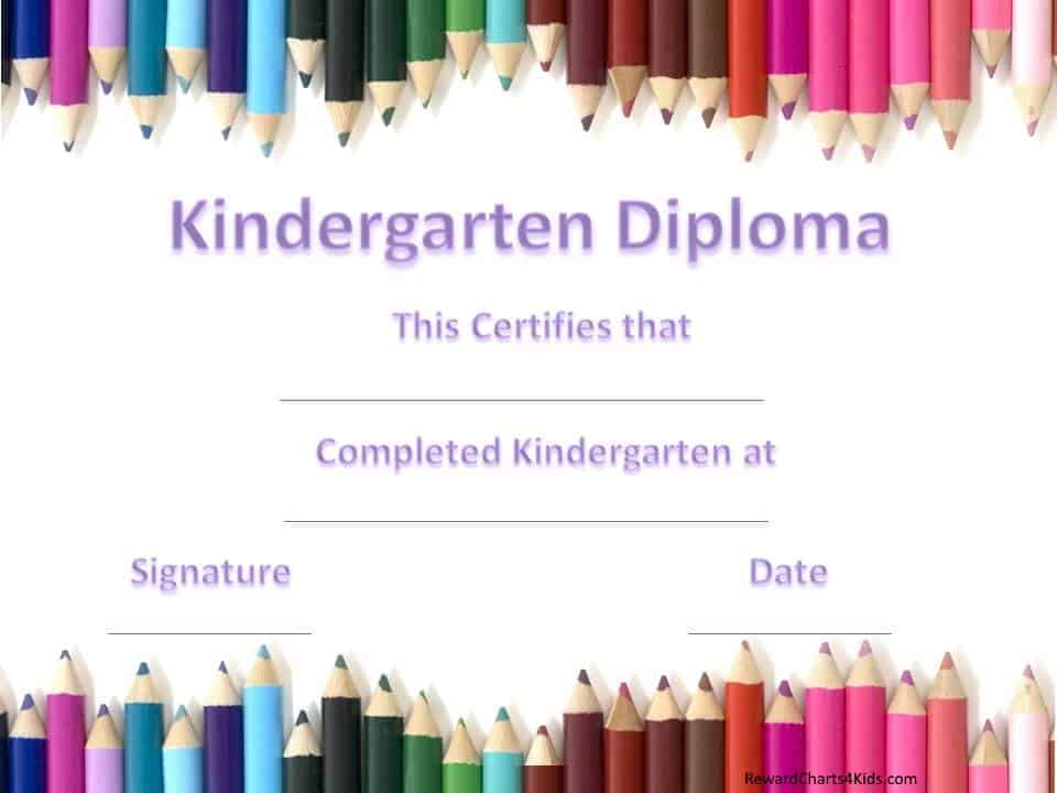Kindergarten Certificates - kindergarten graduation certificates