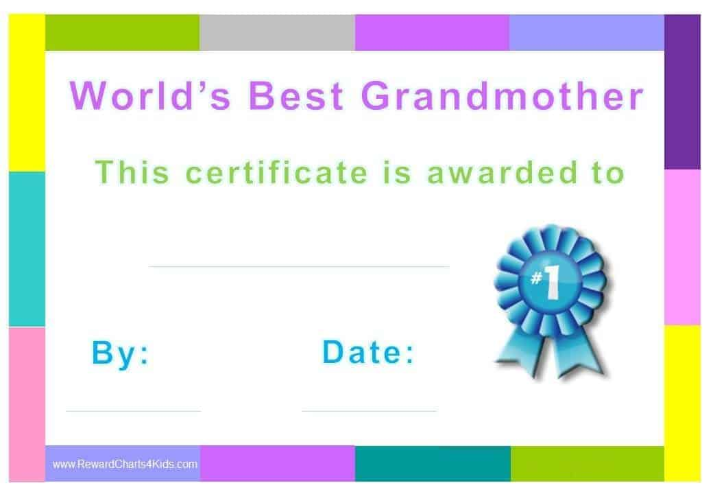 mother day certificates to print