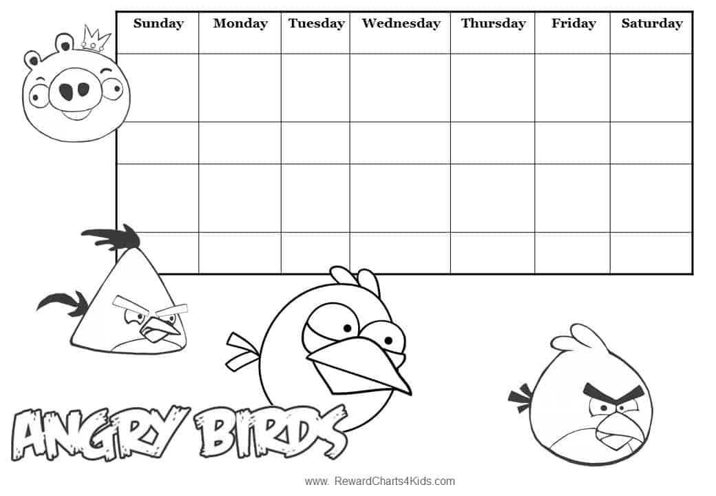 angry-birdsjpg (1040×720) Autism Pinterest Autism - sticker chart
