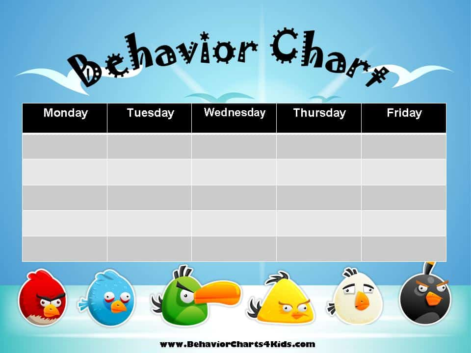 Free Printable Behavior Charts Customize online - printable behavior chart