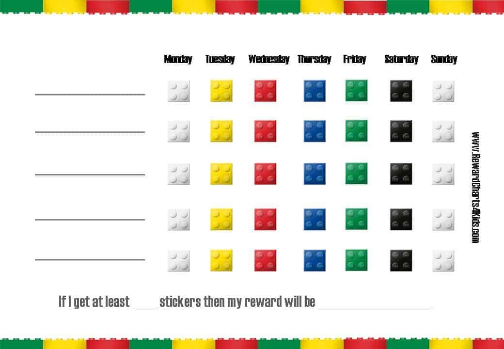 Sample Star Chart Template Printable Reward Charts For Kids And