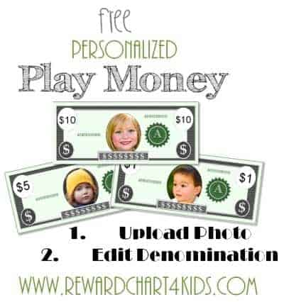 Free Custom Printable Play Money Template Instant Download - play money template