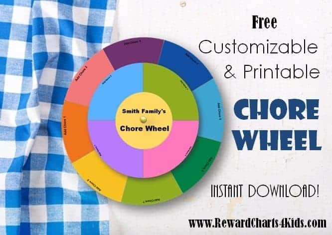 online chore wheel