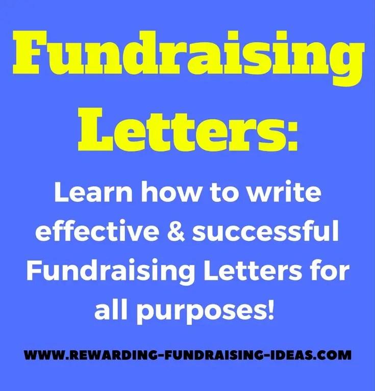 Fundraising Letters - Rewarding Fundraising Ideas