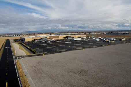Rexburg Super Walmart Aerial