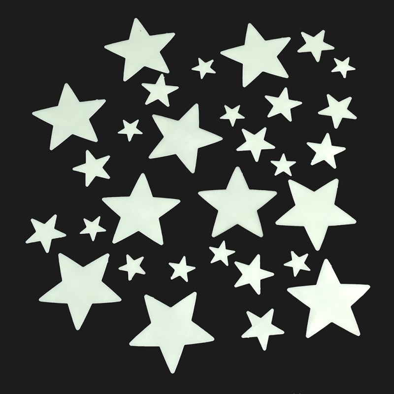 Large Of Glow In The Dark Stars
