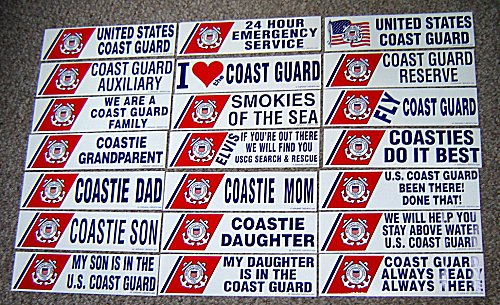 Wessling\u0027s Coast Guard Patch Store - Recent Additions and General