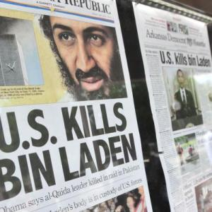 Osama Bin Laden Death Headlines