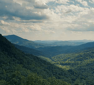 North Caroline Blue Ridge Mountains