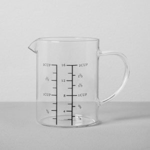 Hearth & Hand with Magnolia Measuring Pitcher 2 Cup- Clear