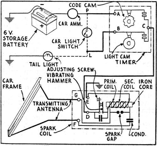 car door schematic illustration