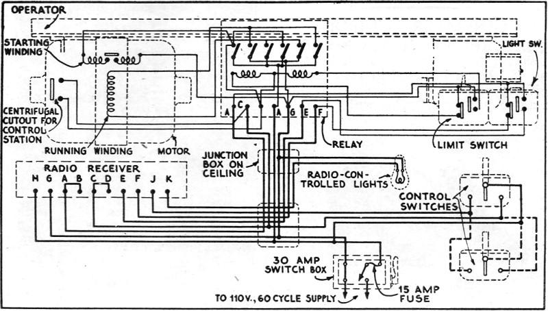 overhead door control schematic