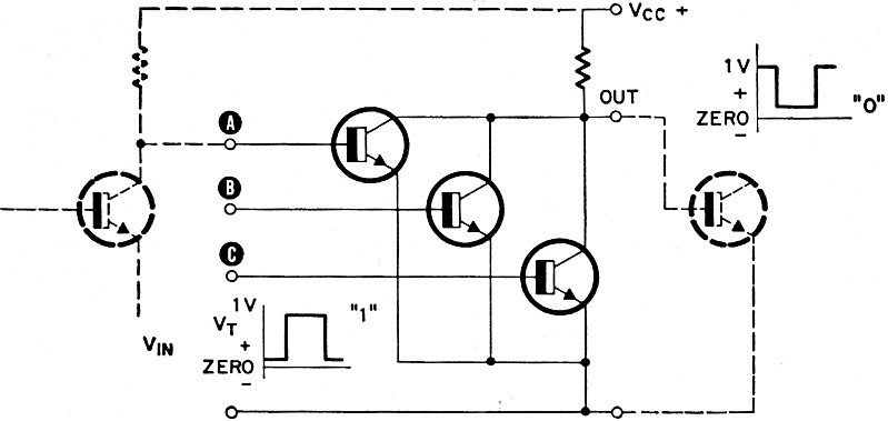 the logic gate without ic