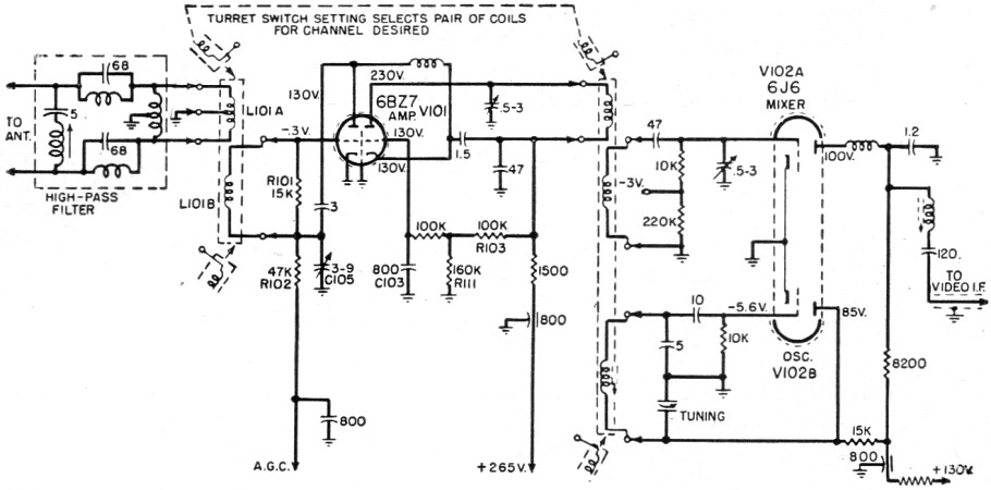 radio signal interference detector circuit