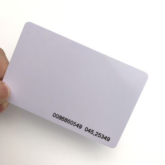 Best ISO14443A 1356MHZ Standard Printable PVC Blank Card MF Classic